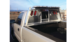 Silverback Heavy Gauge Headache Rack for Police Trucks