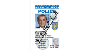 Credentialed Police ID Cards