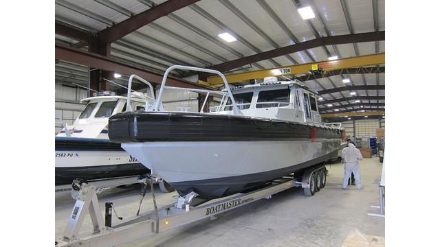 CBRN-ready 35 Defiant Boat