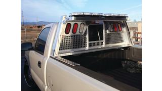 Silverback Heavy Gauge Headache Rack for Police Trucks