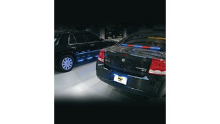 Crossfire License Plate Emergency Lighting System