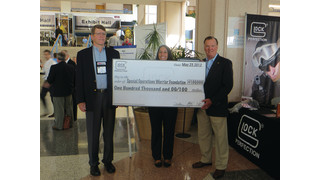 GLOCK, INC. CONTINUES ITS SUPPORT OF SPECIAL OPERATIONS FORCES WITH $100,000 DONATION