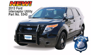 Push Bumper for the 2013 Ford Interceptor Utility