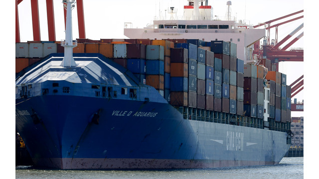A Container Ship With Suspected Stowaways on Board Docked in Newark, N.J. .jpg_10735484.jpg