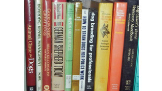 Books for Canine Training & Information