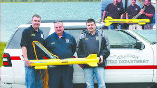 Ky. fire department dive team acquires side scan sonar for S&R