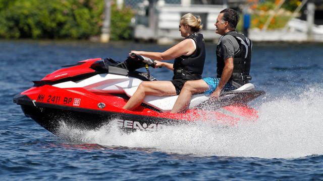 Mitt and Ann Romney Jet Ski in NH.jpg_10737707.jpg