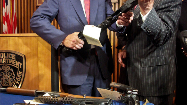 New York City Officials Inspect Seized Weapons.jpg_10748913.jpg