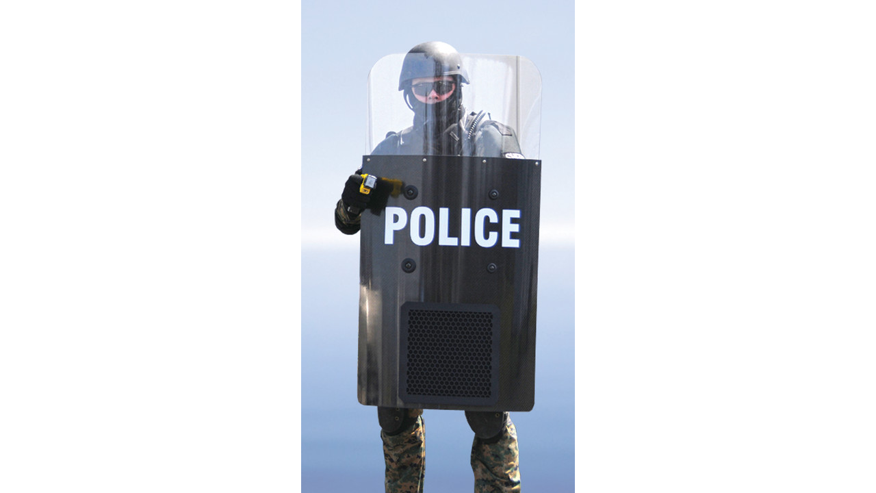 HyperShield - Acoustic Riot Shield | Officer.com