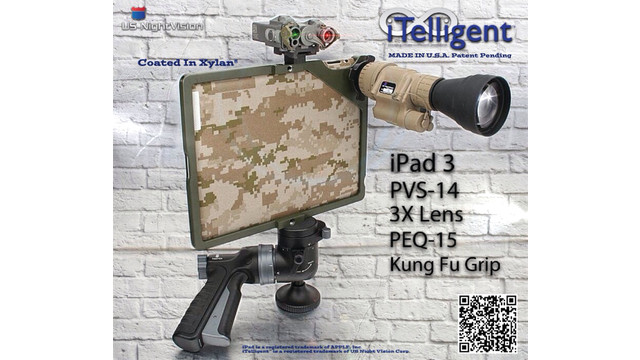 iTelligent iPad 3 Night Vision & Optics Adapter