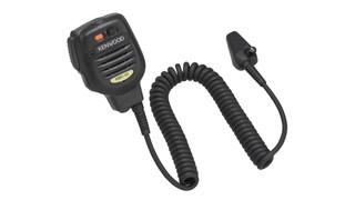 KMC-51M/52W Speaker Mics with advanced DSP Voice Enhancement Technology