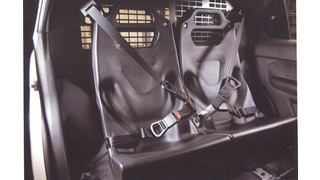 Prisoner Restraint Seats for Utility Vehicles