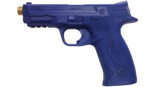 Blueguns: Trigger-Fired Built-in Laser