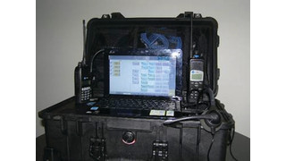 Communications On-The-Move (C-OTM) Unit for Radio and Telephone Interoperability