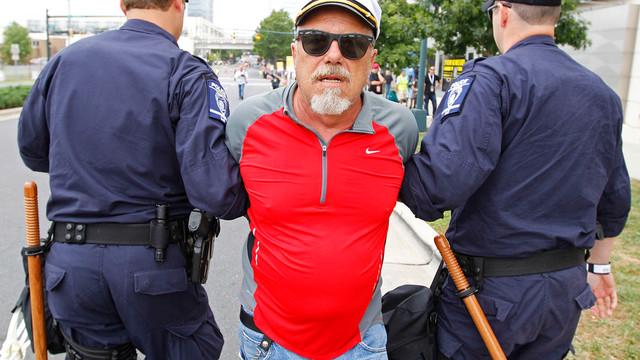 Demonstrator Detained in Charlotte, N.C..jpg_10773769.jpg