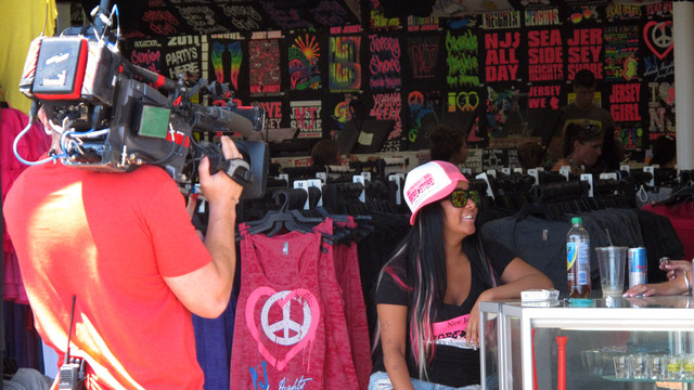 MTV cameras film Nicole Snooki Polizzi during the taping of a Jersey Shore episode..jpg_10784302.jpg