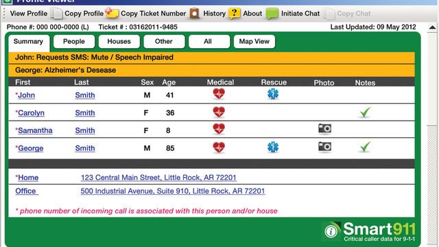 Smart911 - Private SmartSafety Online Profile
