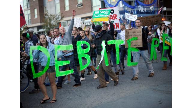 Occupy Denver protesters rally against the presidential debate.jpg_10798212.jpg