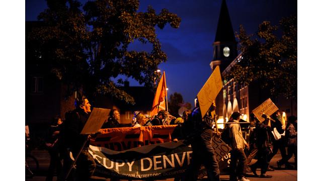 Occupy Denver protesters rally against presidential debate.jpg_10798213.jpg
