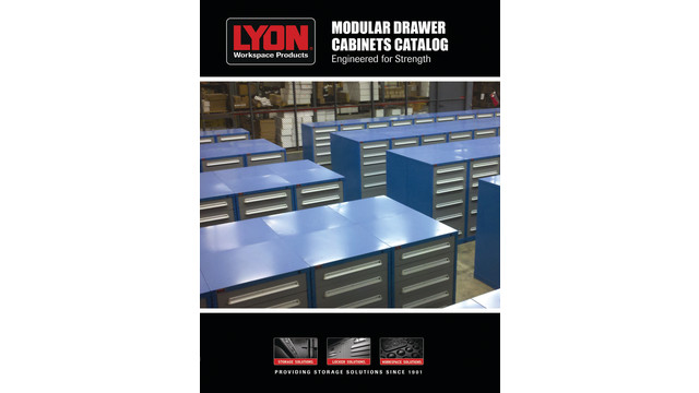 Modular Drawer Cabinet (MDC) Product Catalog 2013