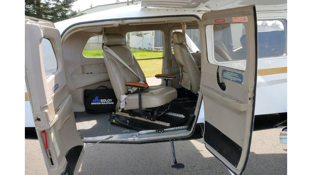 Observation Seat for Cessna U206G/TU206G Aircraft