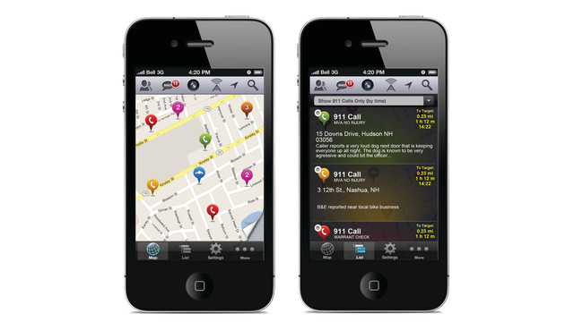 PublicEye - iPhone
