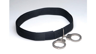 Transport Belt with Handcuffs and Lockable Slots