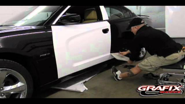 2013 Dodge Charger or any vehicle Installation instruction Door Wrap Video 2.mov