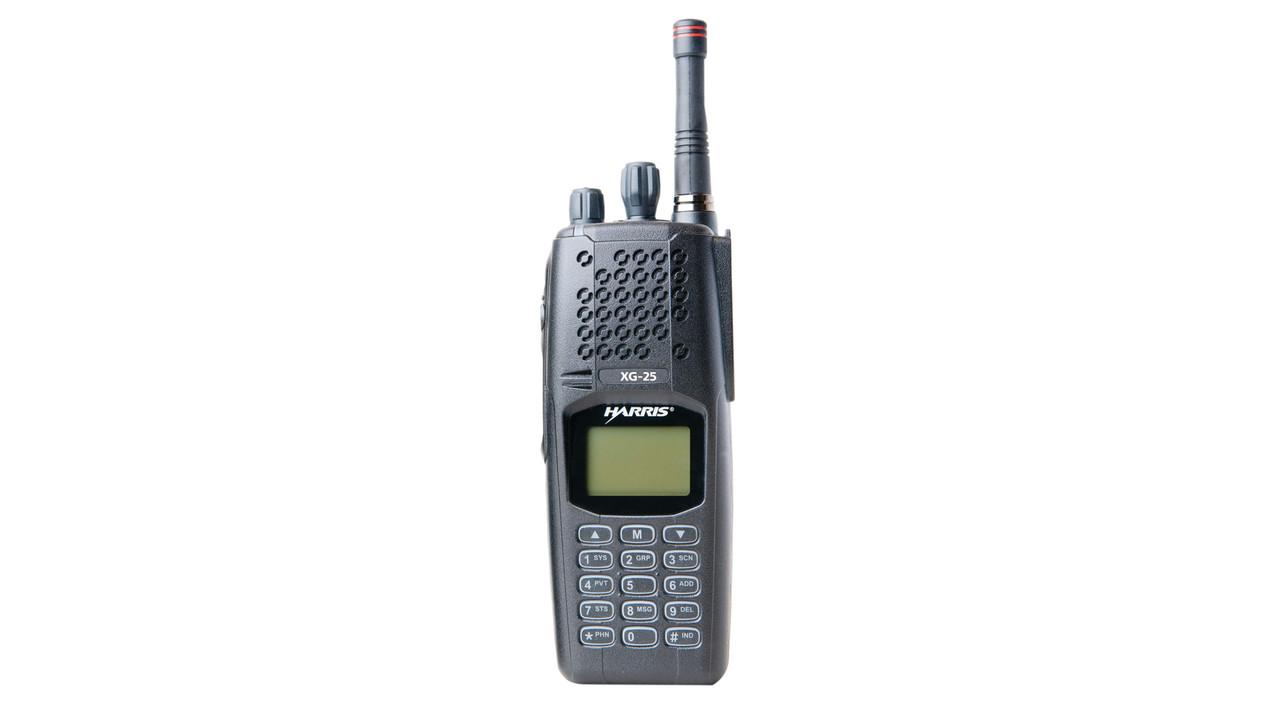 Xg 25p Portable Radio 700 800 Mhz Mission Critical