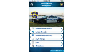 My Police Department (MyPD) App (iPhone, Android)