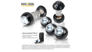 Tactical Balls Rolling Illuminated Distraction and Disorientation Devices (RID-3) - Also available in IR