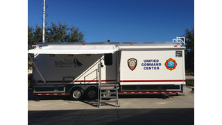 30-foot Unified Command Center - Melbourne (FL) Police and Fire Departments