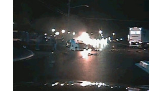 Video: Mich. Officers Rescue Man From Fiery Wreck