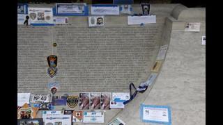 Law Enforcement Officer Memorial Wall Slideshow