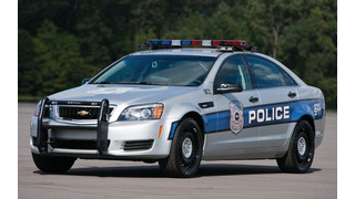 Chevrolet Caprice Police Patrol Vehicle - 2014 Model