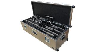 Aluma-Trans Series: AR Four-Gun Gun Case (4AR)