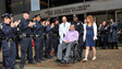Wife of Stabbed NYPD Officer Joins Department