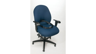 Custody Chair with Grip Locking Waist Belt