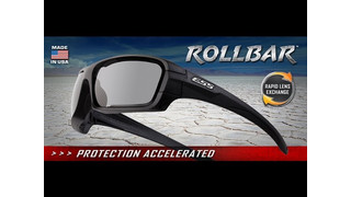 ESS Rollbar Ballistic Sunglass with Rapid Lens Exchange
