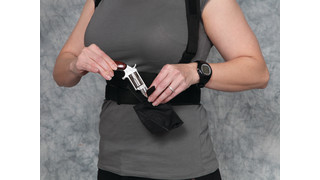 Universal Harness Concealed Carry Holster System with Derringer Pocket