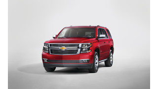 2015 Chevrolet Tahoe and Suburban