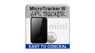 MicroTracker III Mini GPS Tracker