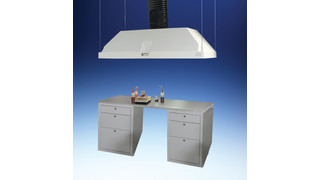 Chemical Resistant Island Canopy Hoods