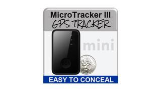 MicroTracker III Mini GPS Tracker
