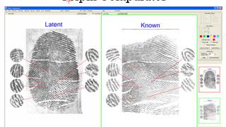 CSIpix Fingerprint Comparator Software