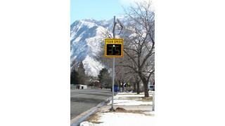 SafePace 450 Lightweight Radar Sign