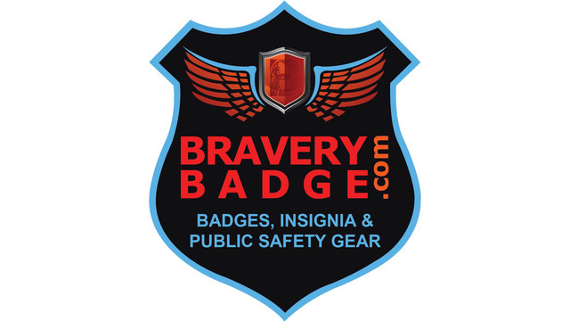 Bravery Badge Public Safety Gear
