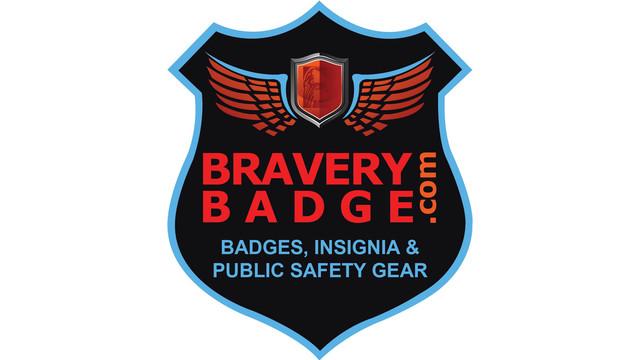 Bravery Badge Public Safety Gear