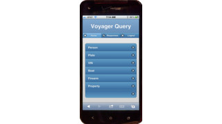 Voyager Query for Law Enforcement App - Apple & Android