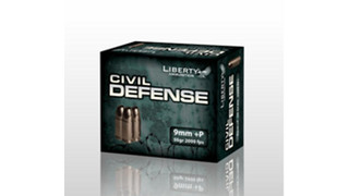 Liberty Ammunition Introduces the Civil Defense Line of 9mm, .40 S&W, .45 ACP and .380 Auto